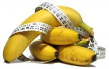 Калорийность 1 банана