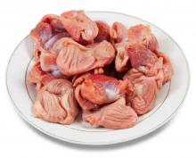 Сырые куриные желудки