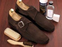 как ухаживать за обувью из замши